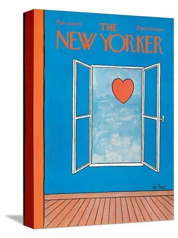 The New Yorker Cover - February 14, 1970-Pierre LeTan-Stretched Canvas Print