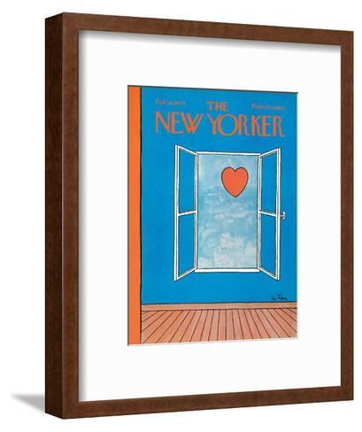 The New Yorker Cover - February 14, 1970-Pierre LeTan-Framed Art Print