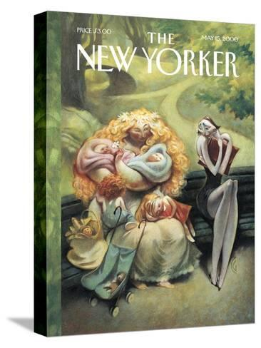 The New Yorker Cover - May 15, 2000-Carter Goodrich-Stretched Canvas Print