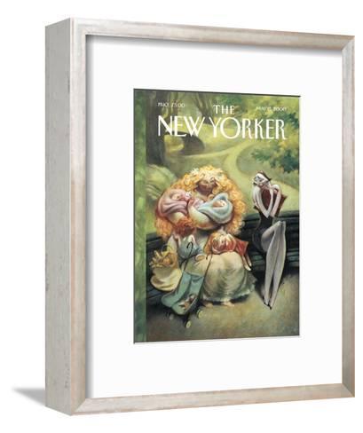 The New Yorker Cover - May 15, 2000-Carter Goodrich-Framed Art Print