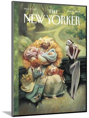 The New Yorker Cover - May 15, 2000-Carter Goodrich-Mounted Premium Giclee Print