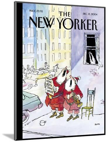 The New Yorker Cover - December 13, 2004-George Booth-Mounted Premium Giclee Print