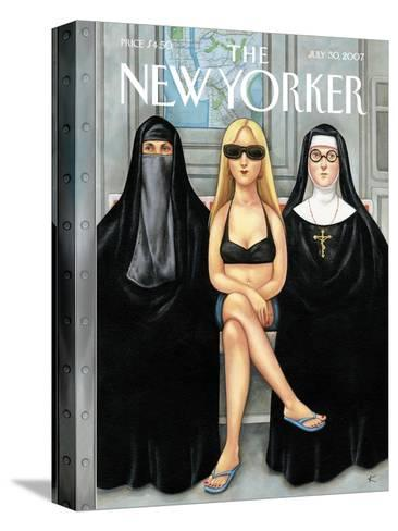 The New Yorker Cover - July 30, 2007-Anita Kunz-Stretched Canvas Print