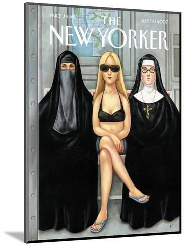 The New Yorker Cover - July 30, 2007-Anita Kunz-Mounted Premium Giclee Print