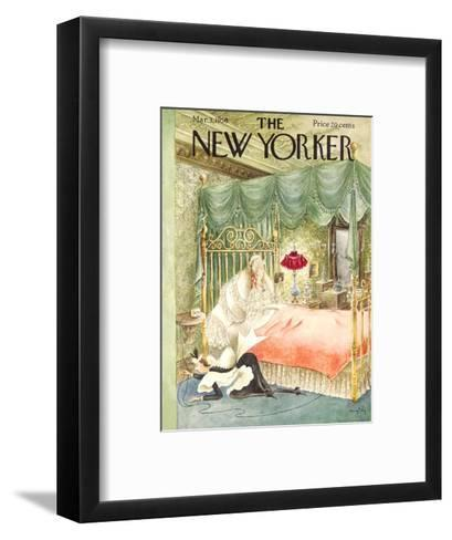 The New Yorker Cover - March 3, 1956-Mary Petty-Framed Art Print