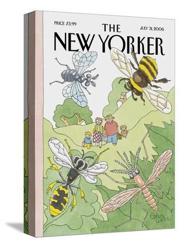The New Yorker Cover - July 31, 2006-Gahan Wilson-Stretched Canvas Print