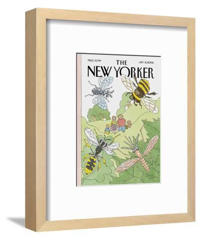 The New Yorker Cover - July 31, 2006-Gahan Wilson-Framed Art Print