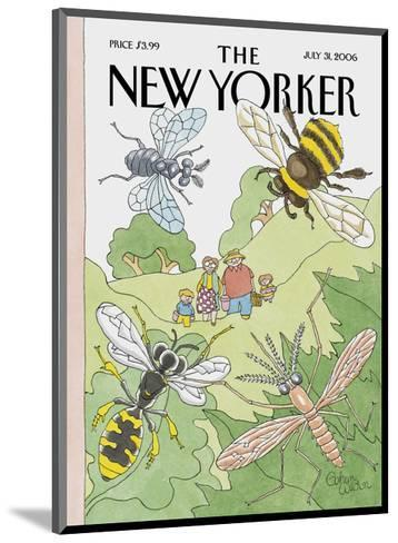 The New Yorker Cover - July 31, 2006-Gahan Wilson-Mounted Premium Giclee Print