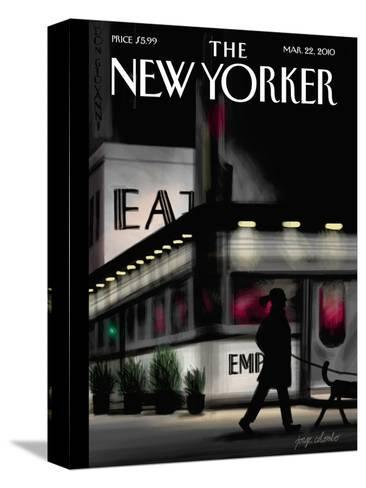 The New Yorker Cover - March 22, 2010-Jorge Colombo-Stretched Canvas Print