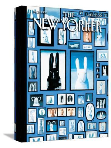 The New Yorker Cover - April 5, 2010-Kathy Osborn-Stretched Canvas Print