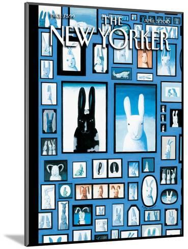 The New Yorker Cover - April 5, 2010-Kathy Osborn-Mounted Premium Giclee Print