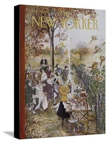 The New Yorker Cover - October 20, 1962-Mary Petty-Stretched Canvas Print