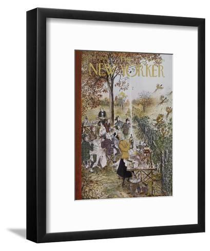 The New Yorker Cover - October 20, 1962-Mary Petty-Framed Art Print