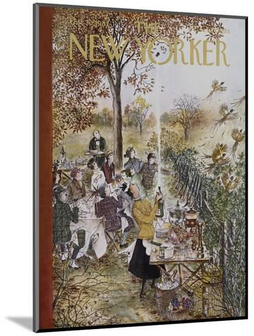 The New Yorker Cover - October 20, 1962-Mary Petty-Mounted Premium Giclee Print