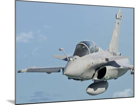A Rafale B of the French Air Force in Flight over Brazil-Stocktrek Images-Mounted Photographic Print