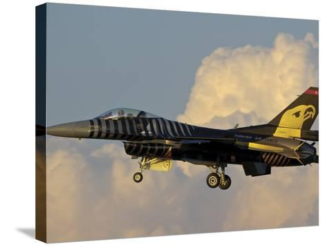 A Solo Turk F-16 of the Turkish Air Force with a Custom Paint Scheme-Stocktrek Images-Stretched Canvas Print