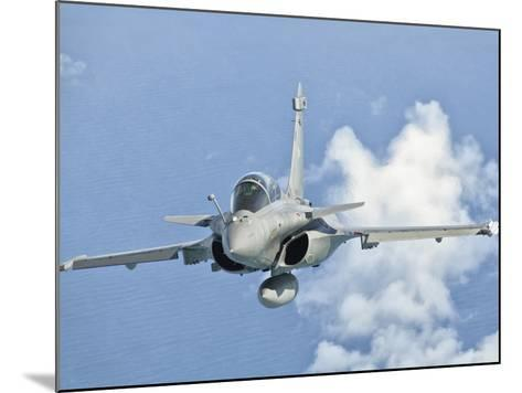 A Dassault Rafale of the French Air Force in Flight over Brazil-Stocktrek Images-Mounted Photographic Print