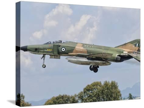 An F-4 Phantom of the Hellenic Air Force-Stocktrek Images-Stretched Canvas Print