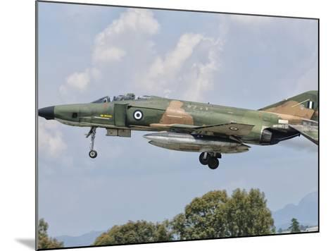 An F-4 Phantom of the Hellenic Air Force-Stocktrek Images-Mounted Photographic Print