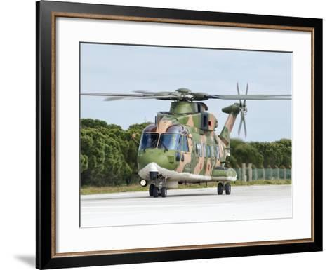 An Agusta Westland EH101 of the Portuguese Air Force-Stocktrek Images-Framed Art Print