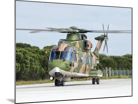 An Agusta Westland EH101 of the Portuguese Air Force-Stocktrek Images-Mounted Photographic Print