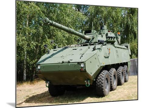 A Belgian Army Piranha IIIC with the Lcts-90 Cockerill Mk8 Gun-Stocktrek Images-Mounted Photographic Print