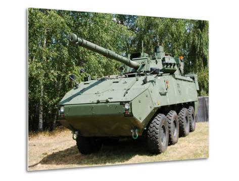 A Belgian Army Piranha IIIC with the Lcts-90 Cockerill Mk8 Gun-Stocktrek Images-Metal Print