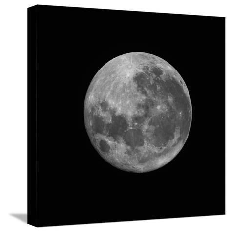 The Supermoon of March 19, 2011-Stocktrek Images-Stretched Canvas Print
