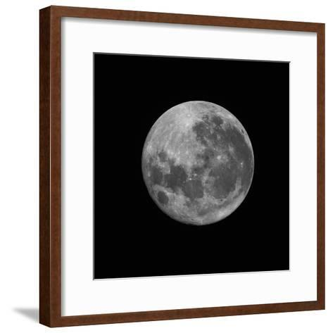 The Supermoon of March 19, 2011-Stocktrek Images-Framed Art Print