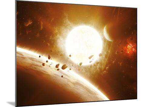 Artist's Concept of 51 Pegasi-Stocktrek Images-Mounted Photographic Print