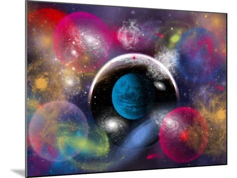 Artist's Concept of Dimensional Doorways Within the Universe-Stocktrek Images-Mounted Photographic Print
