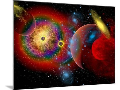 The Universe in a Perpetual State of Chaos-Stocktrek Images-Mounted Photographic Print