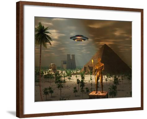 Ancient Civilization-Stocktrek Images-Framed Art Print
