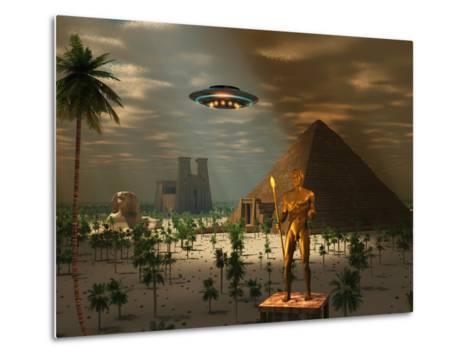 Ancient Civilization-Stocktrek Images-Metal Print