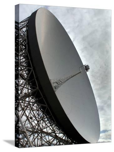 The Lovell Telescope at Jodrell Bank Observatory in Cheshire, England-Stocktrek Images-Stretched Canvas Print