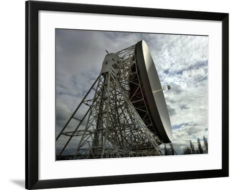 The Lovell Telescope at Jodrell Bank Observatory in Cheshire, England-Stocktrek Images-Framed Art Print