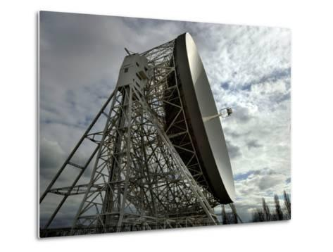 The Lovell Telescope at Jodrell Bank Observatory in Cheshire, England-Stocktrek Images-Metal Print