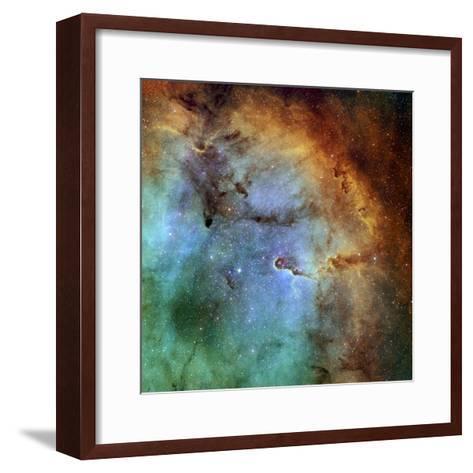 The Elephant Trunk Nebula-Stocktrek Images-Framed Art Print