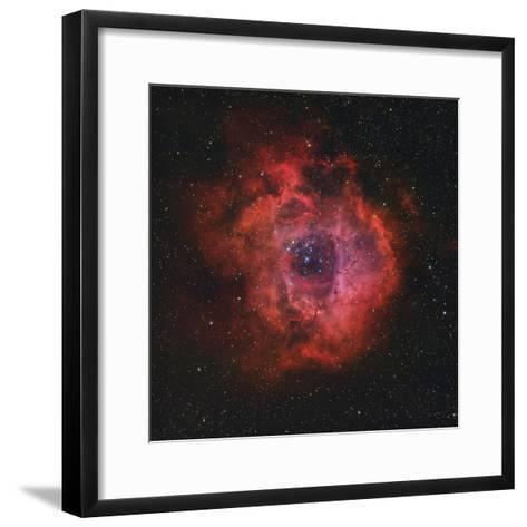 The Rosette Nebula-Stocktrek Images-Framed Art Print