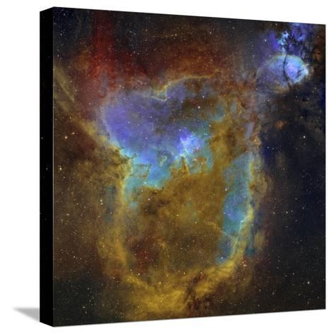 IC 1805, the Heart Nebula-Stocktrek Images-Stretched Canvas Print