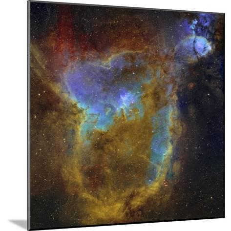 IC 1805, the Heart Nebula-Stocktrek Images-Mounted Photographic Print