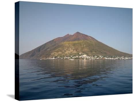 Stromboli Volcano, Aeolian Islands, Mediterranean Sea, Italy-Stocktrek Images-Stretched Canvas Print