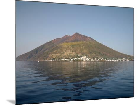 Stromboli Volcano, Aeolian Islands, Mediterranean Sea, Italy-Stocktrek Images-Mounted Photographic Print