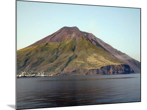 Stromboli Volcano, Aeolian Islands, Mediterranean Sea, Italy-Stocktrek Images-Mounted Photographic Print