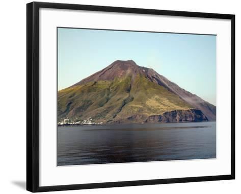 Stromboli Volcano, Aeolian Islands, Mediterranean Sea, Italy-Stocktrek Images-Framed Art Print