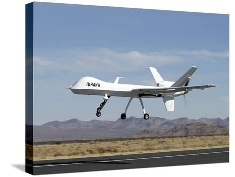 The Ikhana Unmanned Aircraft-Stocktrek Images-Stretched Canvas Print