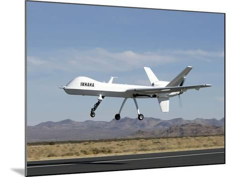 The Ikhana Unmanned Aircraft-Stocktrek Images-Mounted Photographic Print