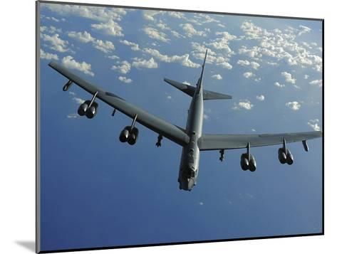 A U.S. Air Force B-52 Stratofortress Flies a Mission over the Pacific Ocean-Stocktrek Images-Mounted Photographic Print