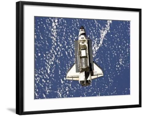 Space Shuttle Discovery-Stocktrek Images-Framed Art Print