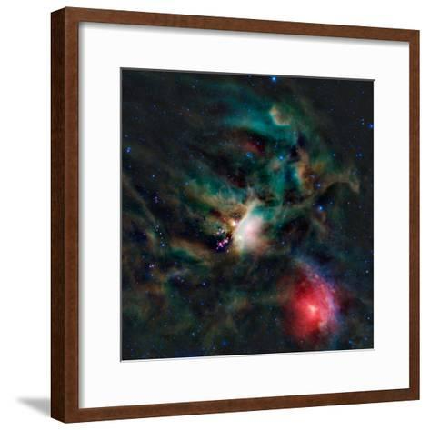 The Rho Ophiuchi Cloud Complex-Stocktrek Images-Framed Art Print